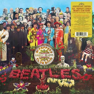 THE BEATLES - SGT PEPPERS LONELY HEARTS CLUB LP