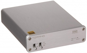 DAC TOPPING D30 DSD USB COAX TOSLINK SREBRNY