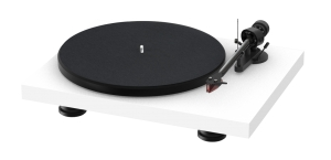 PRO-JECT DEBUT CARBON EVO 2M-RED WHITE SATIN