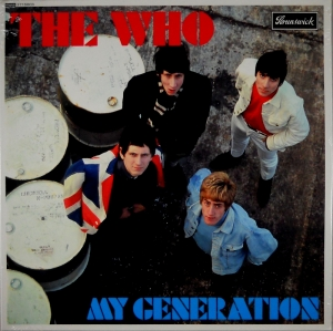 THE WHO - MY GENERATION MONO LP GLIWICE
